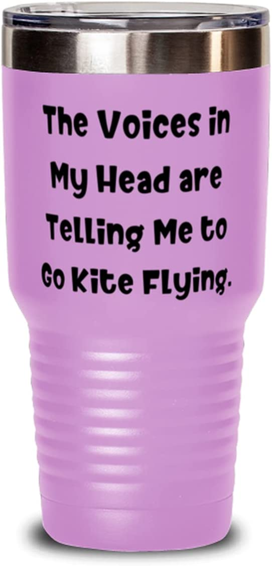 Inappropriate Kite Flying 30oz Tumbler Max 70% OFF The Head Max 61% OFF Voices in ar My