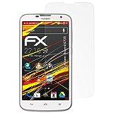atFoliX Schutzfolie kompatibel mit Huawei Ascend G730 Bildschirmschutzfolie, HD-Entspiegelung FX Folie (3X)