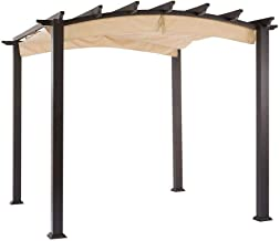 Garden Winds Replacement Canopy for The Hampton Bay Arched Pergola – Standard 350..
