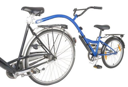 terrabikes Jungen Nachläufer Trailer Bike Kinderfahrrad, blau, one size