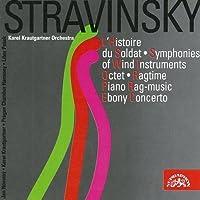 Stravinsky: L'Histoire du soldat, Symphonies of Wind Instruments, Octet, Ragtime etc by Jan Novotny (2000-02-18)