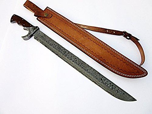 Poshland SW-555 Handmade Damascus Steel Sword
