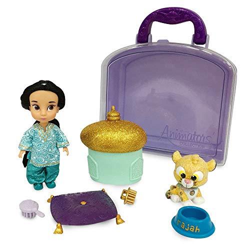 Disney Animators' Collection- Jasmine Mini Doll Play Set – 5 Inches