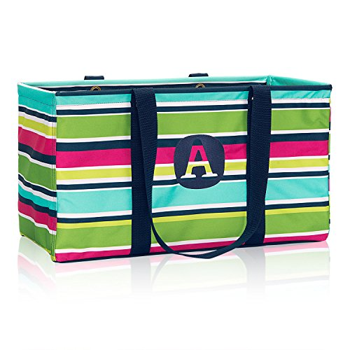Thirty One Large Utility Tote - 3121 - Preppy Pop (No Monogram)