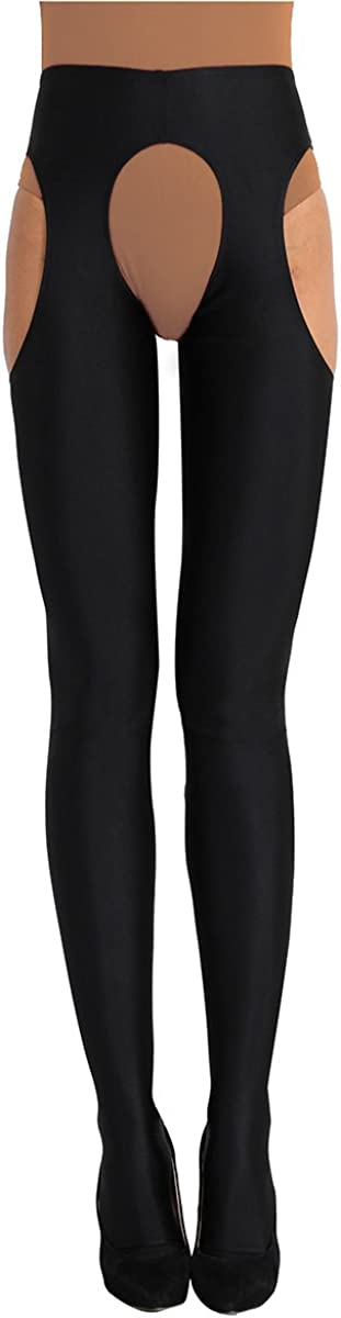 iiniim Womenâ€s Crotchless 25% OFF Pantyhose Out Hollow Tampa Mall Seamless