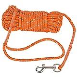 Cuerda Reflectante para Perro 10 M, Correas Adiestramiento para...