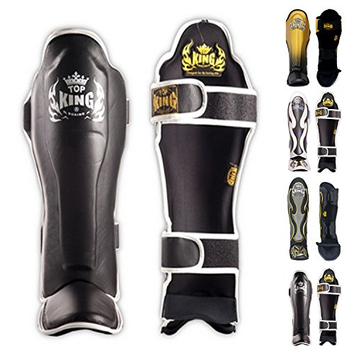 Top King Muay Thai Shin Guards