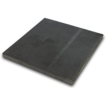 Pack of 4! Hot Rolled Steel Plate 3//16 x 6 x 6