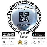 Despertador Wake Time (Silver) -Dificultad Media - El Dispositivo enlaza con App de Wake T...