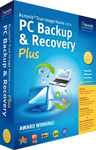 Acronis True Image Home 2011:PC Backup and Recovery Plus (PC)