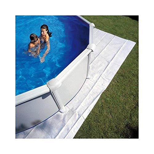 Gre Pools - Tapis de sol feutrine piscine ovale 915 x 470