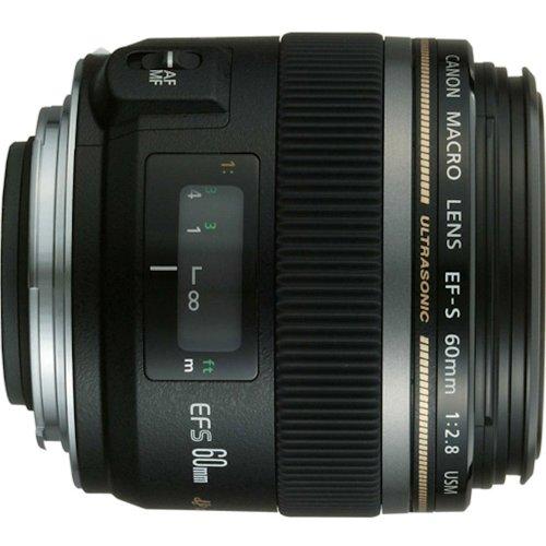 Canon EF-S 60mm f/2.8 Macro USM Fixed Lens