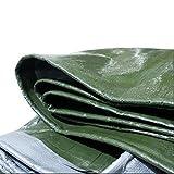 Toldos CJC Lona Alquitranada Carpa Canopy Impermeable Reforzado Rip-Stop con Ojales Multipropósito Resistente A Los Rayos UV (Color : Green, Size : 2X1.5m)