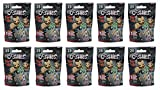 WWE Ooshies Series 2 Pencil Topper Figures Blind Bag Party Favour Pack of 10