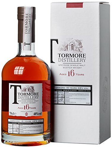 Tormore 16 Years Old mit Geschenkverpackung Whisky (1 x 0.7 l)