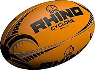 2c671ffc20b2d Only Sports rouage Rhino Cyclone Ballon de rugby fluo orange taille 3-5