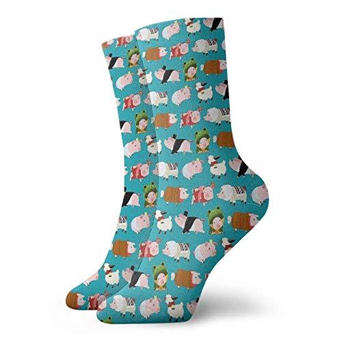 Poogie Pattern - Calcetines de diseño de Monster Hunter clásicos cómodos calcetines deportivos casuales de 30 cm para mujeres y mujeres unisex