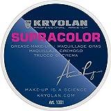 Kryolan Supracolor blanco Maquillaje Profesional cremoso para teatro, 8 ml