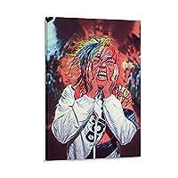 ダニエルヘルナンデスアートウォールアートデコレーションピクチャーキャンバスプリントポスターオフィスルームデコレーションアートワーク16×24インチ(40×60cm)