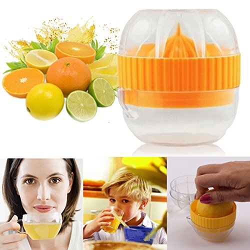 Bluelover Presse-Agrumes Manuel Portable Orange De Jus De Fruits Jus Presse-Citron