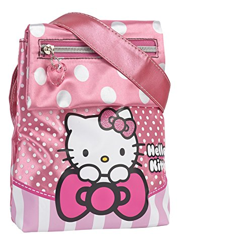 KARACTERMANIA Hello Kitty Bow Bolso Bandolera, 20 cm, Rosa
