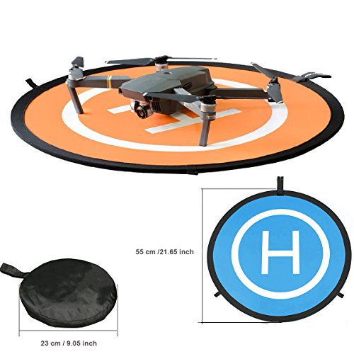 KINGWON 55cm Leichte Faltbare wasserdichte Drone Launch Pad Landing Pad für DJI Mavic 2 /Mavic PRO/Mavic Air/DJI Spark,DJI Tello