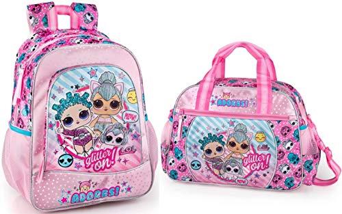 LOL Surprise Rucksack und Sporttasche L.O.L. Puppen Mädchen Kinderrucksack