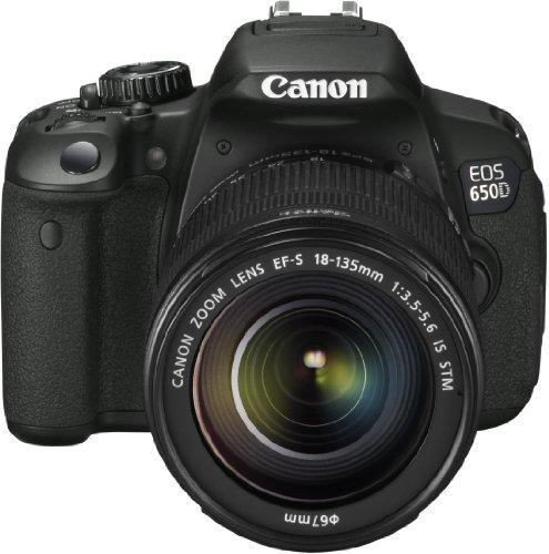 Canon EOS 650D - Cámara réflex de 18 Mp (pantalla táctil articulada de 3