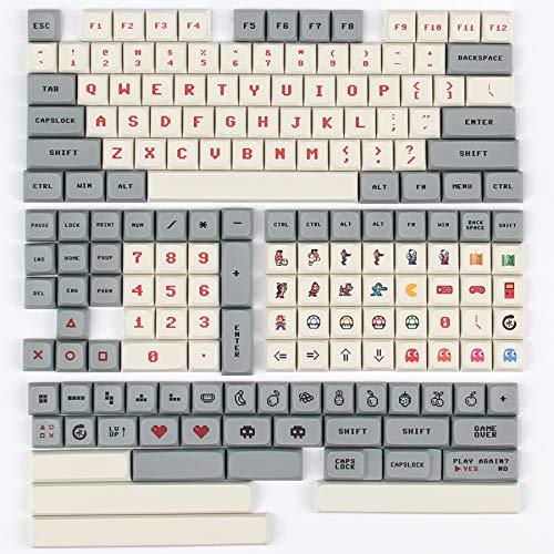XDA Profile PBT 178 Tasten vollständiges Tastenkappen-Set für MX mechanische Tastatur DIY Ersatz