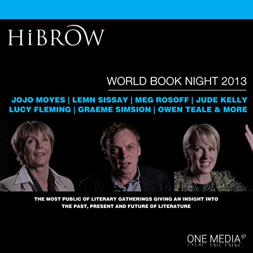 HiBrow: World Book Night 2013 audiobook cover art