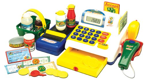 Kriya Ltd - Ma première caisse enregistreuse électronique - Jouet - Version Anglaise