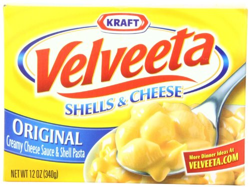 Velveeta Shells and Cheese, Original 12oz - (Pack of 3) by Velveeta