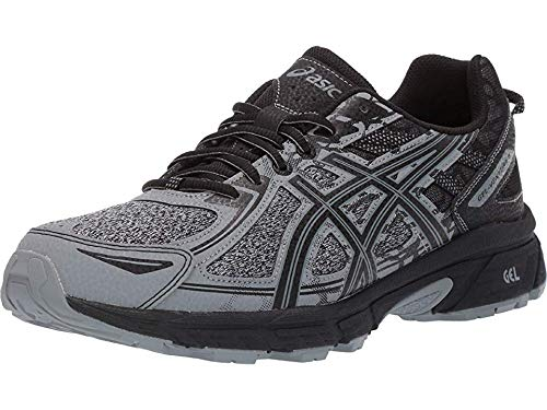 ASICS Men's Gel-Venture 6 MX Running Shoes, 13M, Stone Grey/Stone Grey