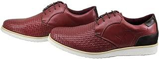 Sapato Casual Oxford Masculino Couro Antiderrapante Moderno