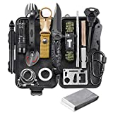 EILIKS Survival Gear Kit, Emergency EDC Survival Tools 24 in 1 SOS Earthquake Aid Equipment, Cool Top Gadgets...