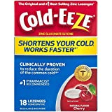 COLD-EEZE Cold Remedy Lozenges, Cherry 18 ea (Pack of 2)