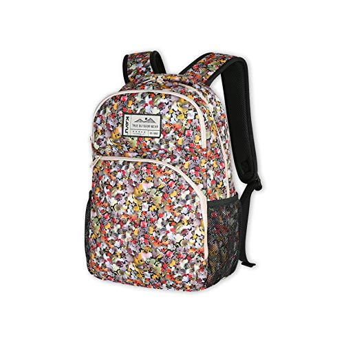 KAVU Packwood Backpack with Padded Laptop and Tablet Sleeve-Bloom Burst