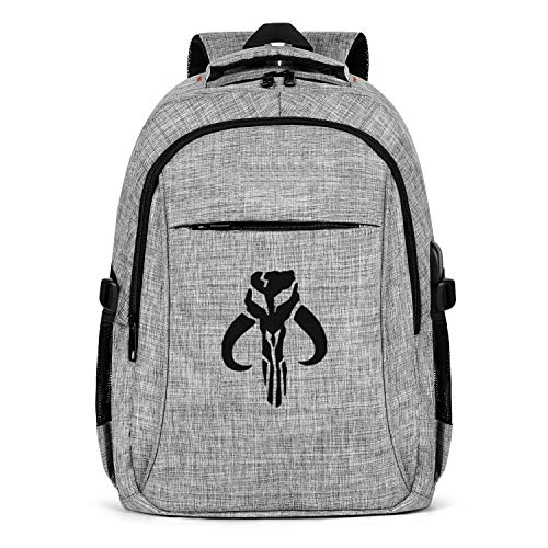 Pattern Laptop Backpack Boba-Fett- Travel Bag Unisex Computer Bags