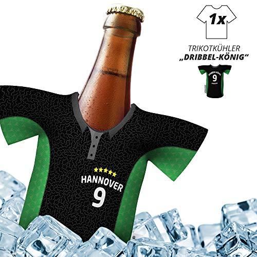Fan-Trikot-kühler Home für Hannover 96-Fans | DRIBBEL-KÖNIG | 1x Trikot | Fußball Fanartikel Jersey Bierkühler by Ligakakao