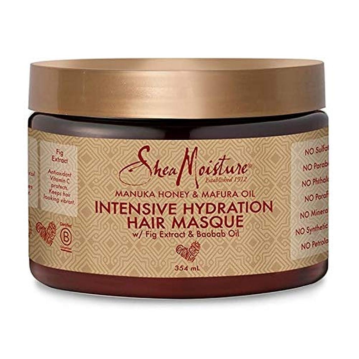 誓い平均ぜいたく[Shea Moisture ] シア水分マヌカハニー&Mafuraオイルヘア仮面の354ミリリットル - Shea Moisture Manuka Honey & Mafura Oil Hair Masque 354ml [並行輸入品]