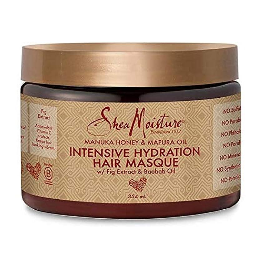 感覚磁気ピニオン[Shea Moisture ] シア水分マヌカハニー&Mafuraオイルヘア仮面の354ミリリットル - Shea Moisture Manuka Honey & Mafura Oil Hair Masque 354ml [並行輸入品]