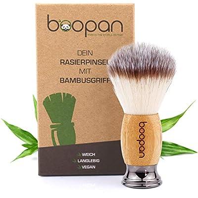 boopan® Premium Rasierpinsel vegan