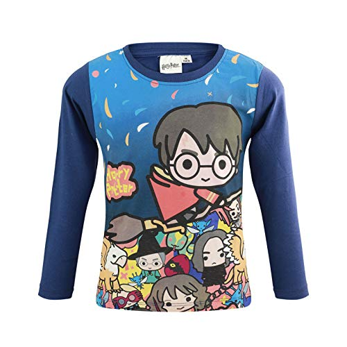 Characters Cartoons Harry Potter – Camiseta Magla de manga