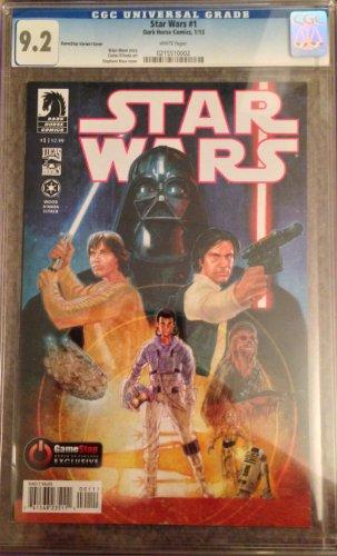 Star Wars #1 GameStop Exclusive Variant