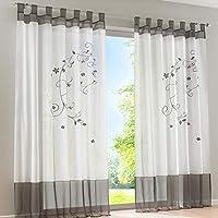 cortinas salon visillos