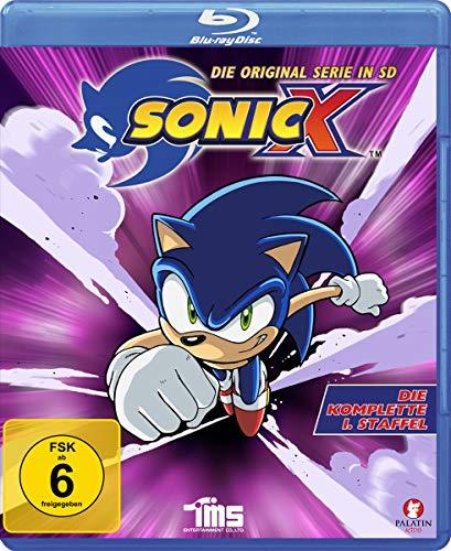 Sonic X - Die komplette 1. Staffel - Alle 52 Episoden - Die Original Serie in SD [Blu-ray]
