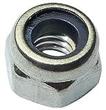 AERZETIX: 50x Tuercas hexagonales autoinsertables M4 7mm H5mm Acero Inoxidable A4 C19180