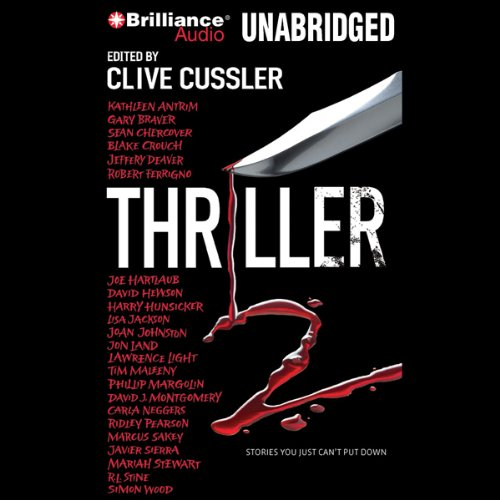 Thriller 2 audiobook cover art