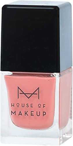 House Of Makeup Long Lasting Nail Polish in Gel Formula in Shade Subtle Everyday Pink, Kashmiri Chai, NON Chipping Fo...
