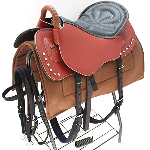 Western Horse Sattel, EIN Voller Satz Sattel, Kleine Und Große Sättel, Reitzubehör, Gemütlich Vergnügen Trail Show, Leichtgewichtler,C,1.3M